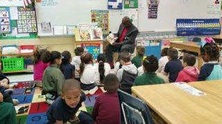 Real Men Read At Pine Lake Elementary School - February 24th, 2020 - Part 2