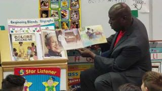 Real Men Read At Pine Lake Elementary School - February 24th, 2020 - Part 3