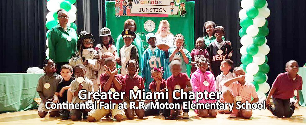 Continental Societies Greater Miami Chapter 2013 14 FoundersDay