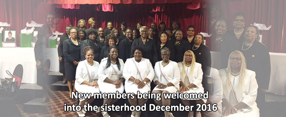 Continental Societies Greater Miami Chapter 2015 New Memebers Welcomed December 2015